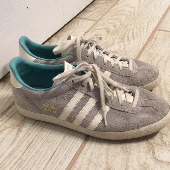 best cheap discount shop high fashion Gray Adidas Gazelle sneakers